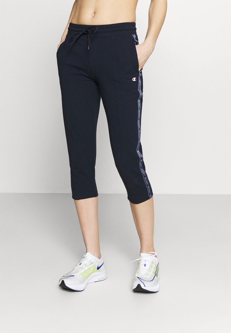 Champion - CAPRI PANTS - 3/4 sports trousers - dark blue
