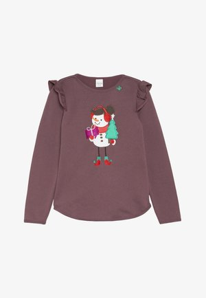 HELLO SNOWGIRL  - Sweatshirts - plum purple