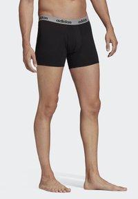 adidas Performance - BRIEFS 3 PAIRS - Panties - black - 5