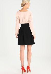 mint&berry - A-line skirt - black - 2