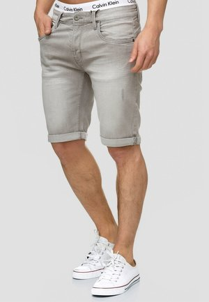 CUBA CADEN - Denim shorts - grau