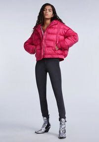 SET - Winter jacket - pink - 1