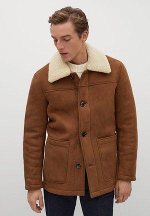 CAIROLI - Winter jacket - kognac