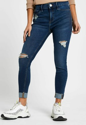 MID RISE JEGGINGS - Jeans Skinny Fit - blue