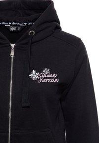 Queen Kerosin - Zip-up hoodie - schwarz - 2