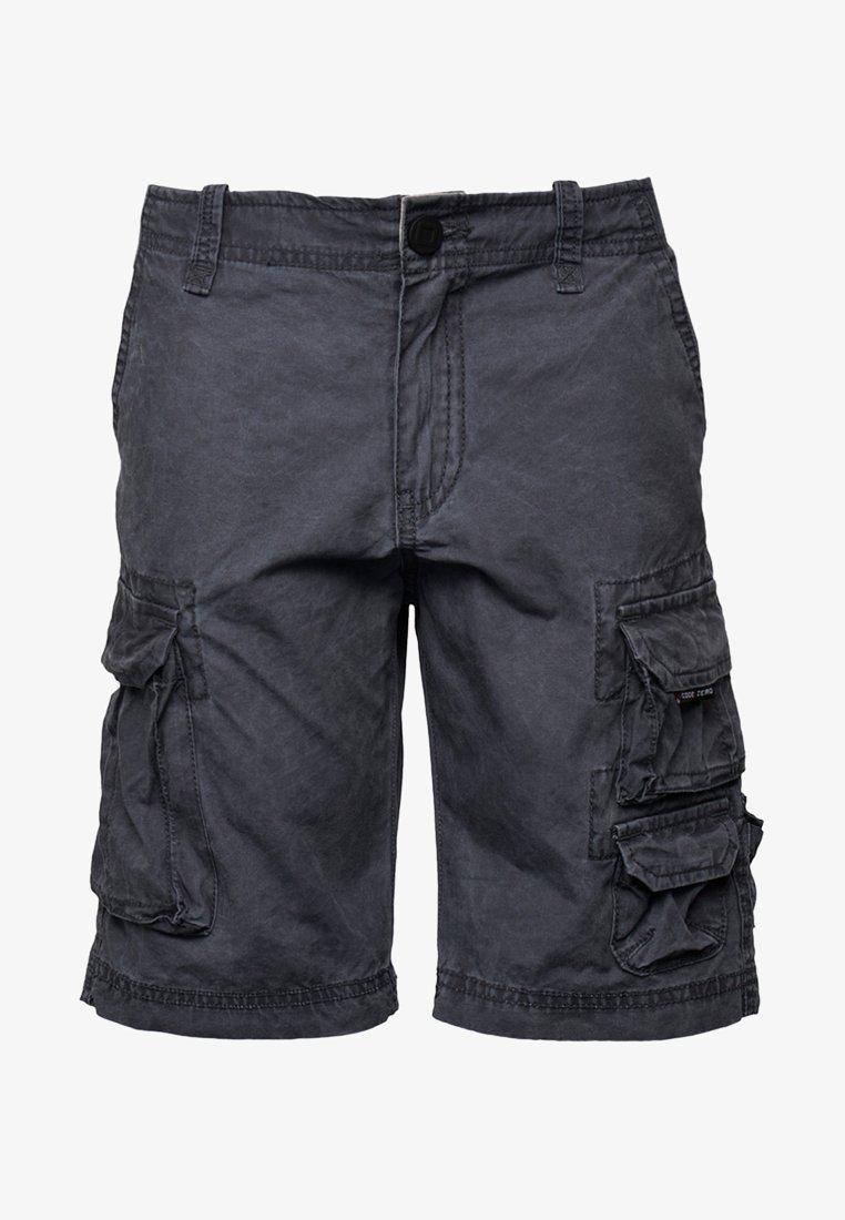 CODE | ZERO - Cargo trousers - anthracite