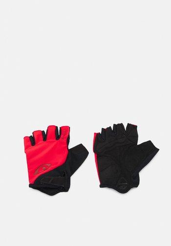 GIRO JAG - Rękawiczki pięciopalcowe - trim red
