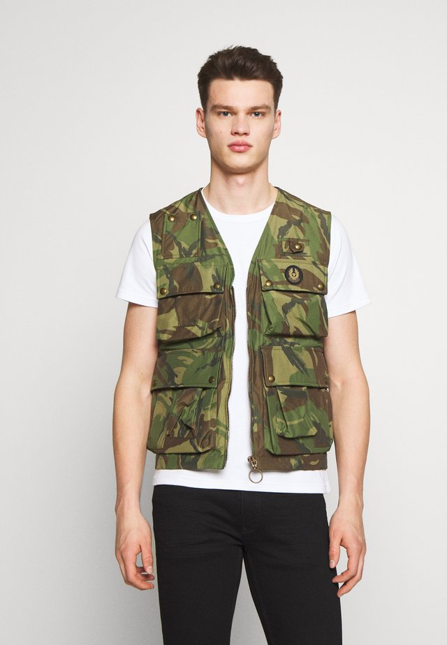 CASTMASTER GILET - Chaleco - green