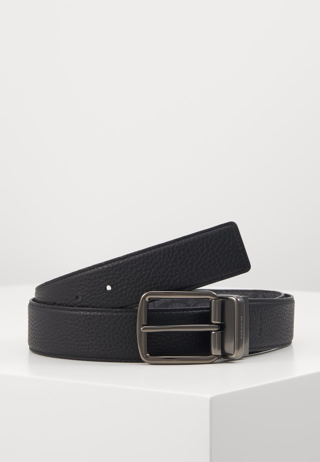 WIDE HARNESS SIGNATURE BELT - Pásek - charcoal/black