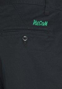 Volcom - GREENFUZZ PANT - Kalhoty - black - 2