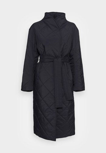 KENNA LONG QUILT - Cappotto classico - black