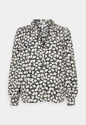 Button-down blouse - noir