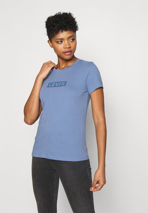 THE PERFECT TEE - T-shirts med print -  blu