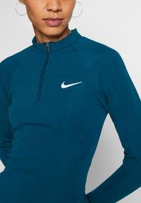 Nike Sportswear - W NSW ESSENTIAL LS - Vestido de tubo - valerian blue/(white) - 3