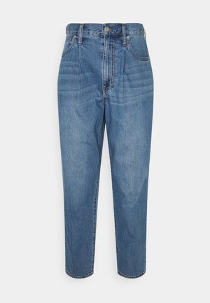 BAGGY PLEATS - Relaxed fit jeans - jewell