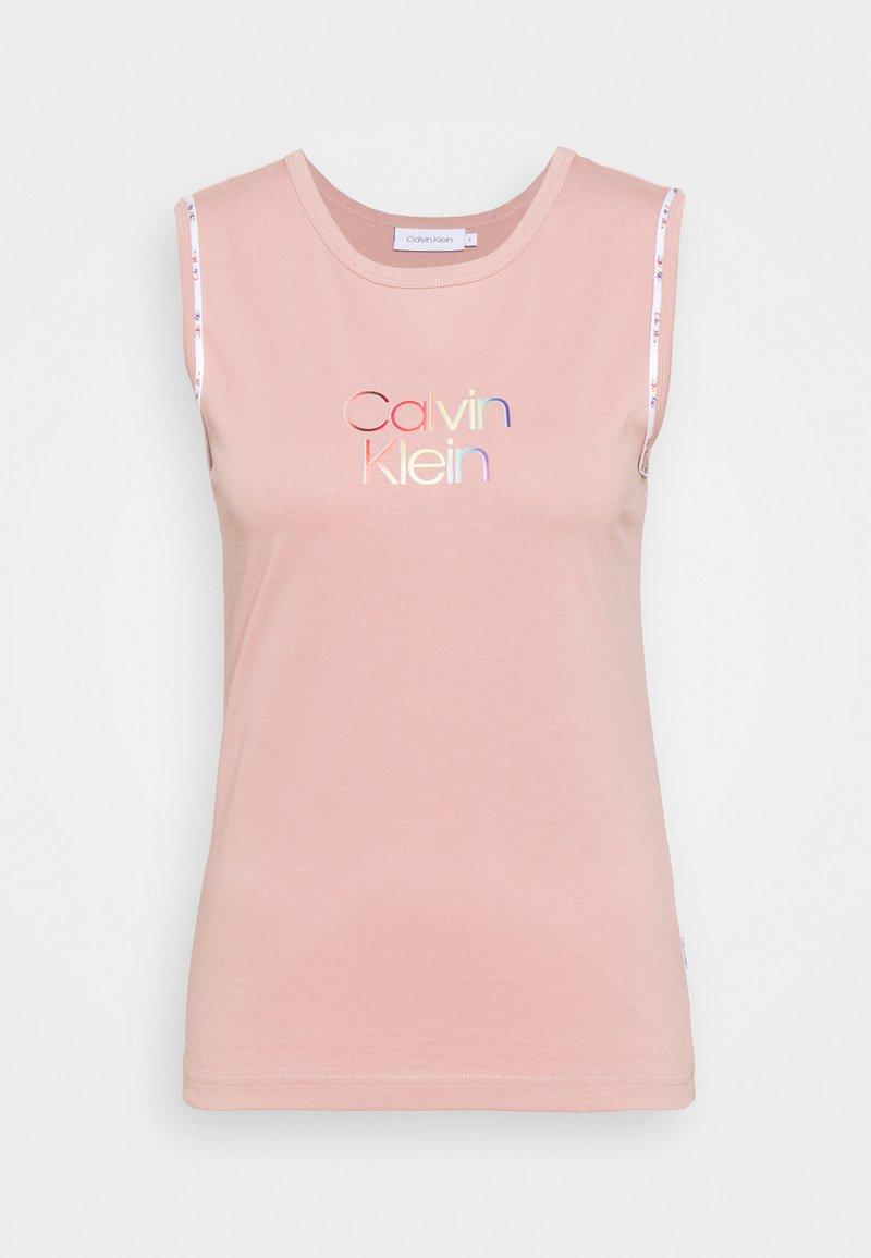 Calvin Klein - PRIDE TANK  - Top - muted pink