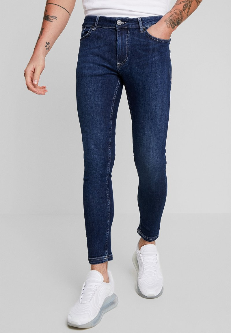 11 DEGREES - ESSENTIAL - Jeans Skinny Fit - indigo wash