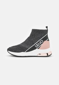 Liu Jo Jeans - KARLIE MID  - High-top trainers - black - 1