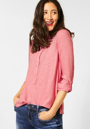 IN MELANGEOPTIK - Blouse - pink