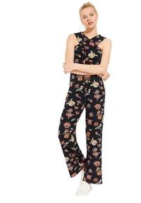 comma casual identity - MIT WICKEL-EFFEKT - Jumpsuit - marine floral print - 3