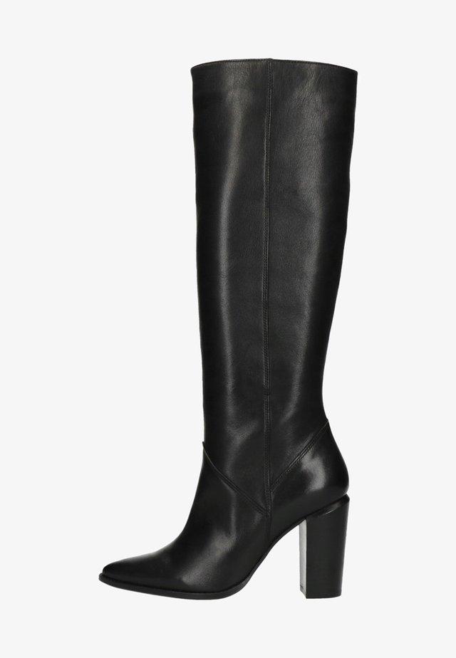 MIT ABSATZ - High heeled ankle boots - black