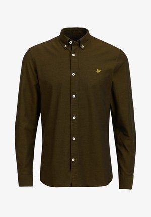 SLIM FIT - Overhemd - army green