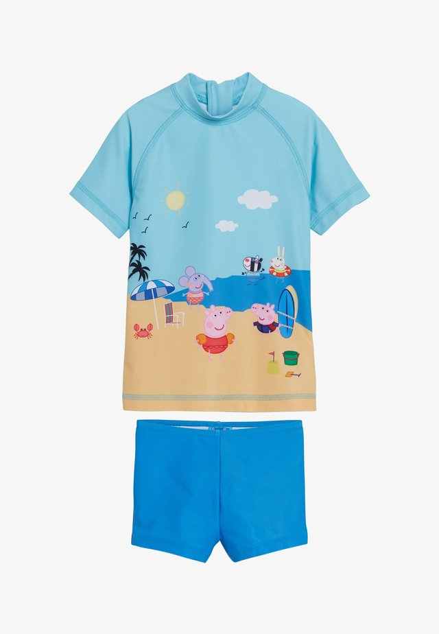PEPPA PIG TWO PIECE SET - Swimsuit - blue