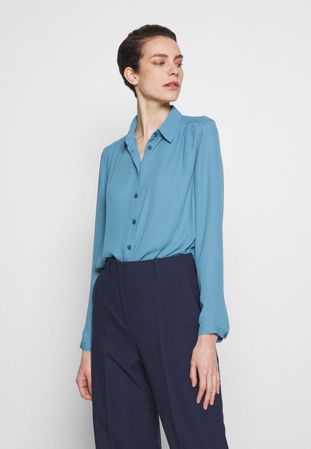 MARIELLE - Button-down blouse - blue heaven