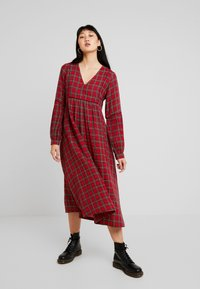 Leon & Harper - RODRIGUE TARTAN - Day dress - red - 2
