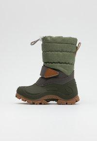 Lurchi - FINN - Zimní obuv - light olive - 0