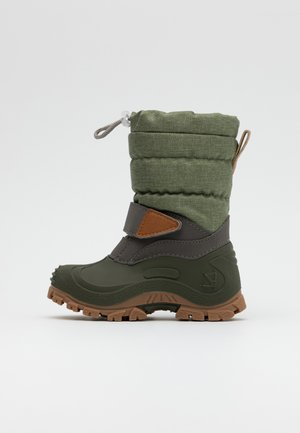 FINN - Winter boots - light olive