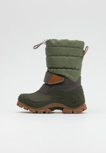 FINN - Winter boots - light olive