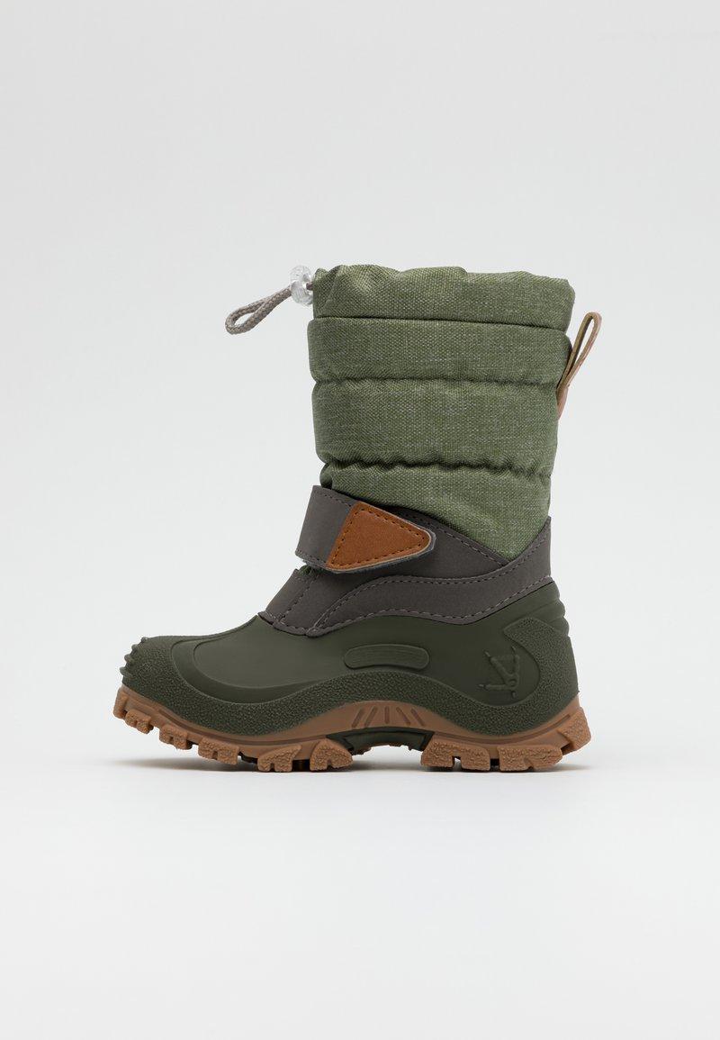 Lurchi - FINN - Zimní obuv - light olive