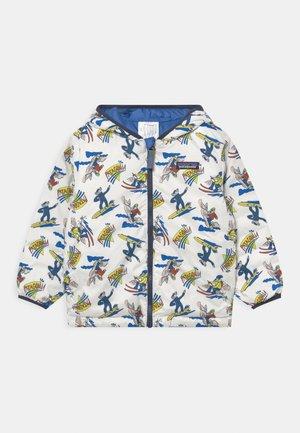 REVERSIBLE HOODY UNISEX - Gewatteerde jas - blue/multi-coloured
