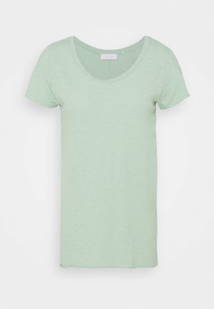 SLUB - Basic T-shirt - matcha