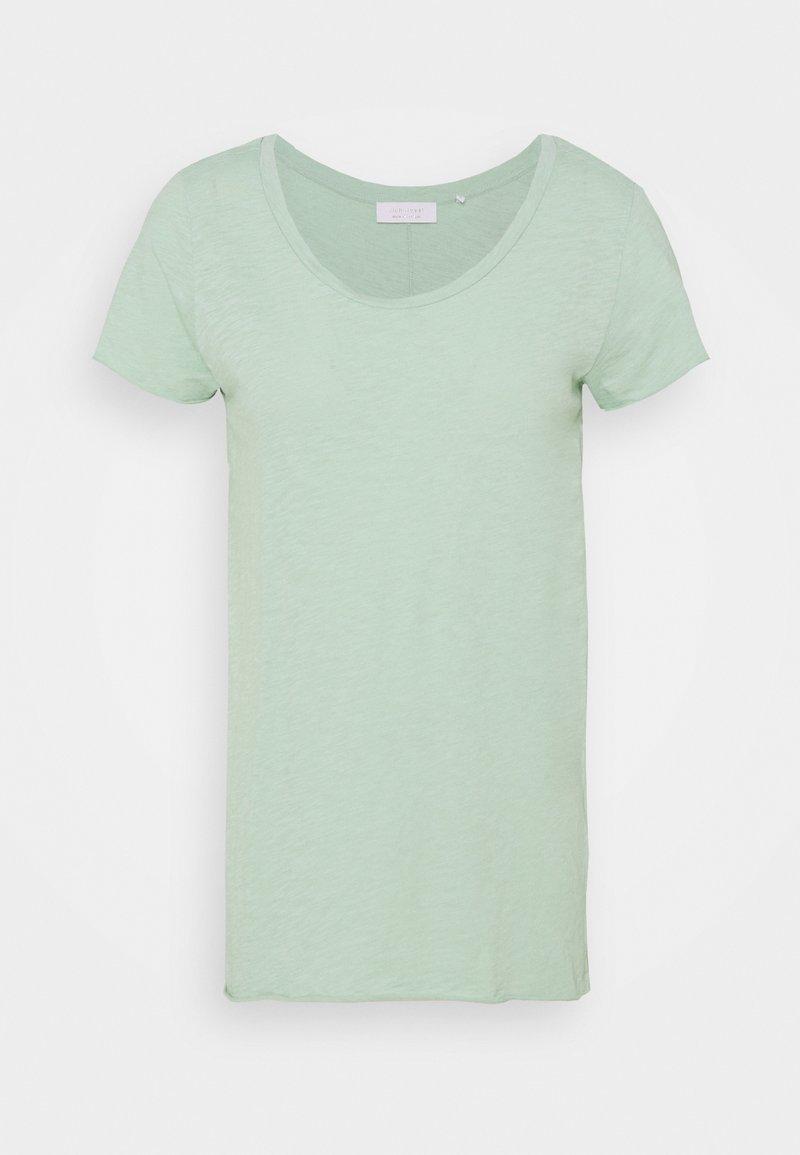 Rich & Royal - SLUB - Basic T-shirt - matcha