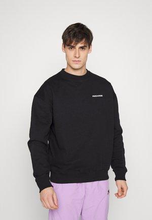 LOGO UNISEX - Sweater - black