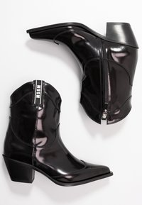 MSGM - Cowboy/biker ankle boot - black - 3