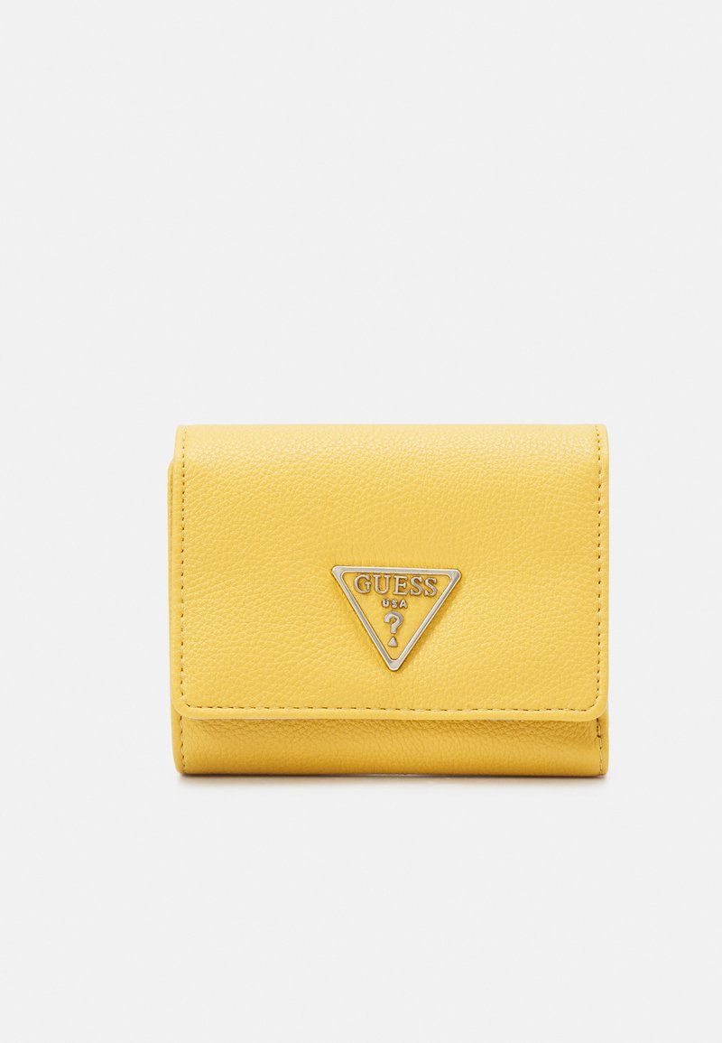 Guess - SANDRINE SMALL TRIFOLD - Wallet - yellow