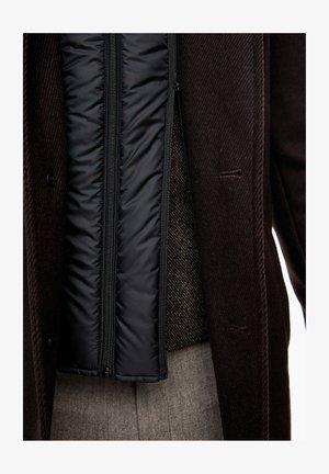 SLIM FIT - Classic coat - brown