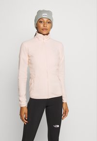 The North Face - WOMENS GLACIER FULL ZIP - Fleece jacket - morning pink - 0