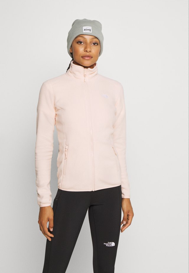 WOMENS GLACIER FULL ZIP - Fleecová bunda - morning pink
