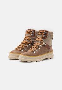 GANT - KAARI MID LACE BOOT - Lace-up ankle boots - warm khaki - 2