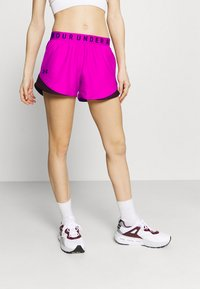 Under Armour - PLAY UP SHORTS 3.0 - Urheilushortsit - meteor pink - 0
