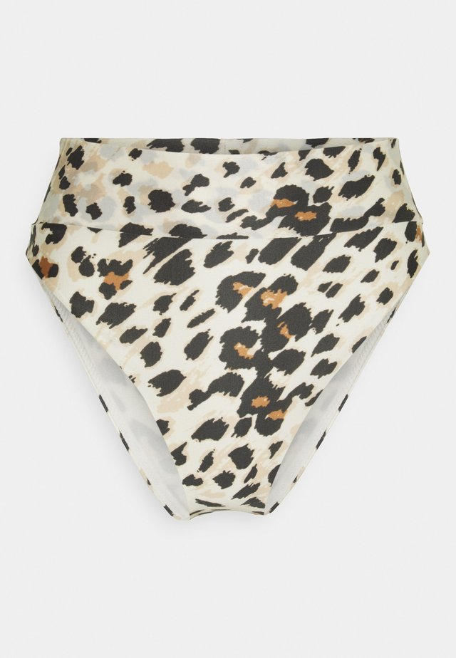 HI CUT CHEEKY - Bikini bottoms - cream