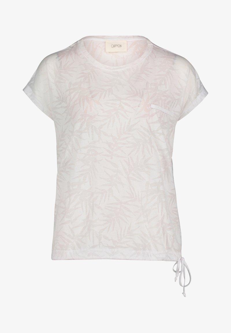 Cartoon - Print T-shirt - weiß