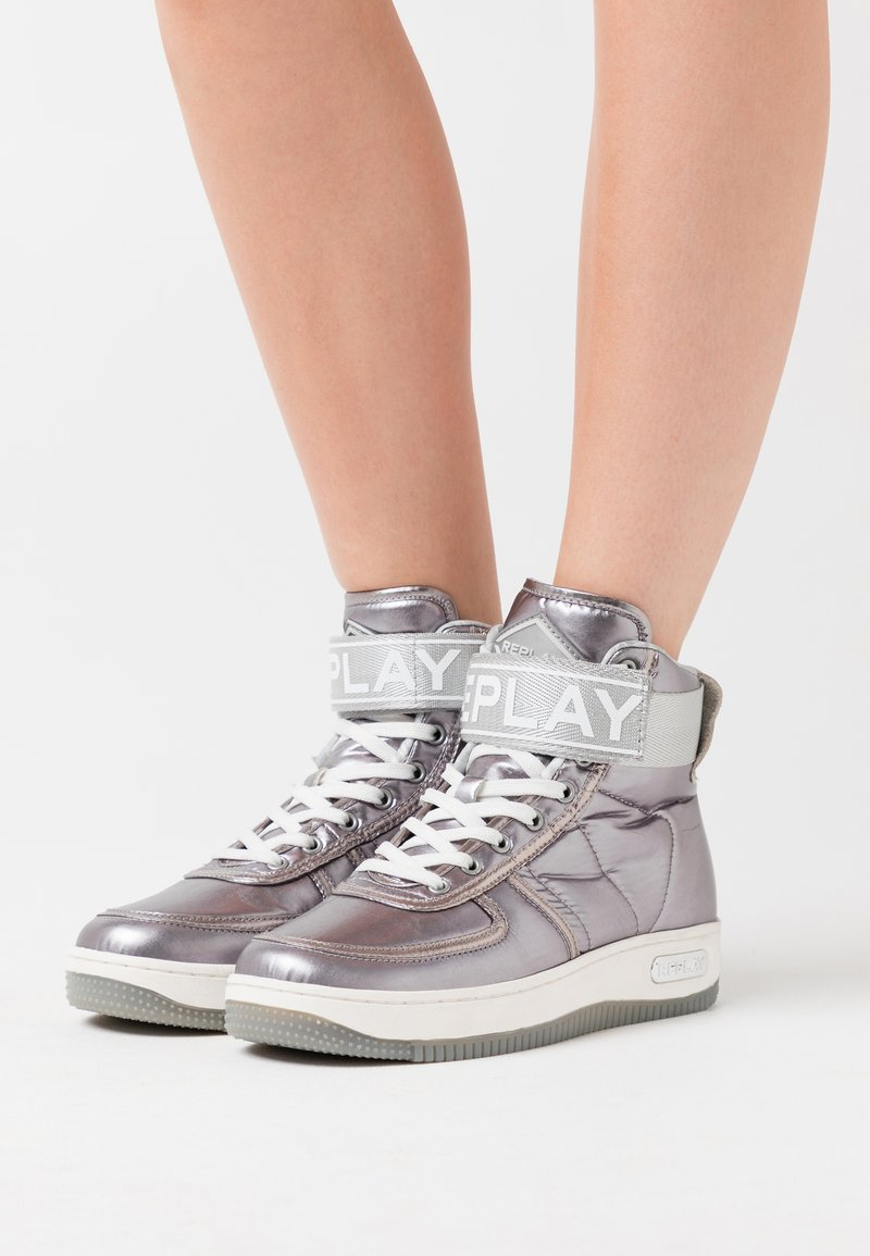 Replay - EPIC ENDURANCE - High-top trainers - dark silver