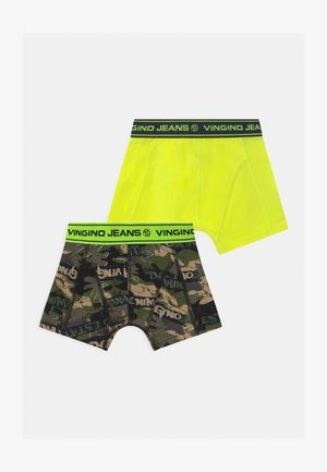 2 PACK - Boxerky - multicolor/army green