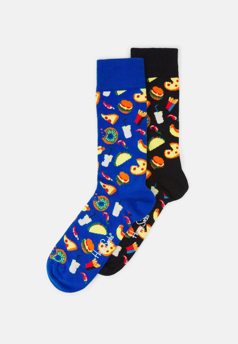 Happy Socks - JUNK FOOD SOCK UNISEX 2 PACK - Calcetines - multi