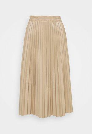 A-line skirt - beige sand